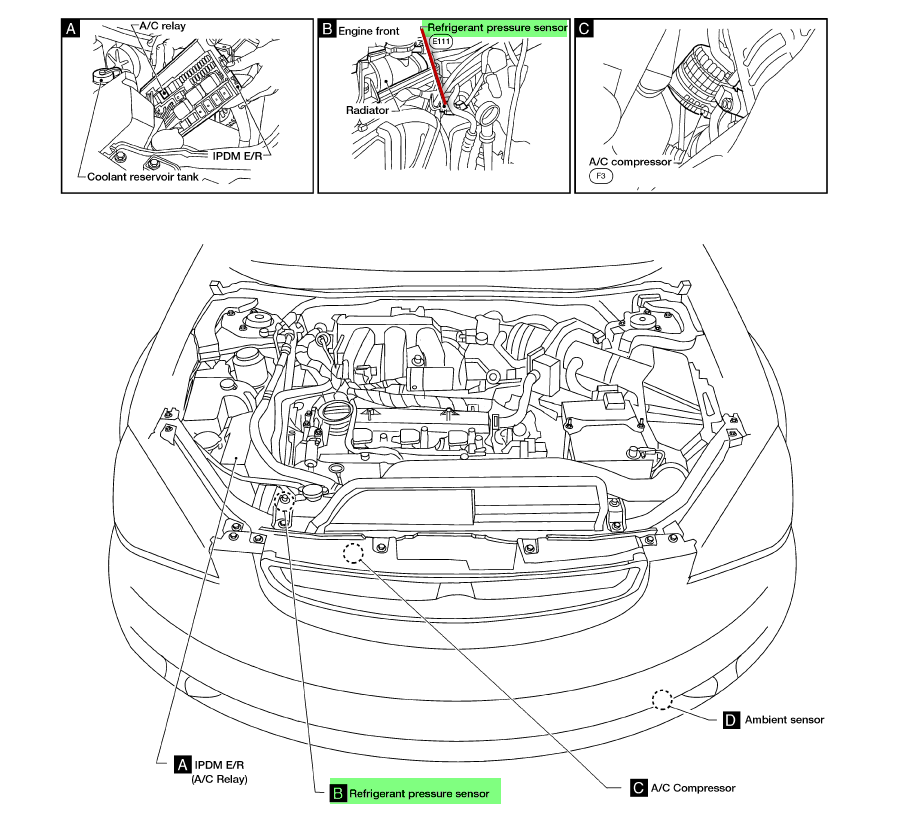 service manual  how to add freon to 2005 nissan altima
