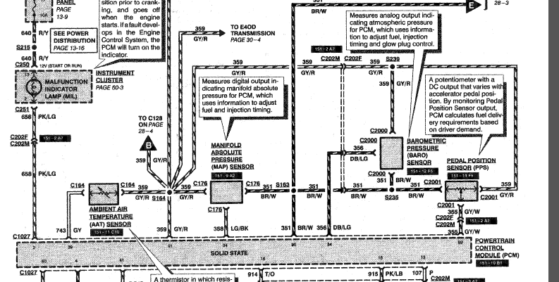 F Super Duty 7 3  Need A Wiring Diagram For The Accelerator