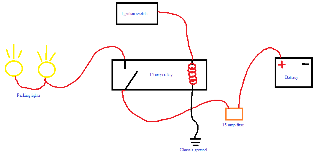 wiring drl lights library of wiring diagram u2022 rh jessascott co DRL Fog Lights DRL Lights Durango