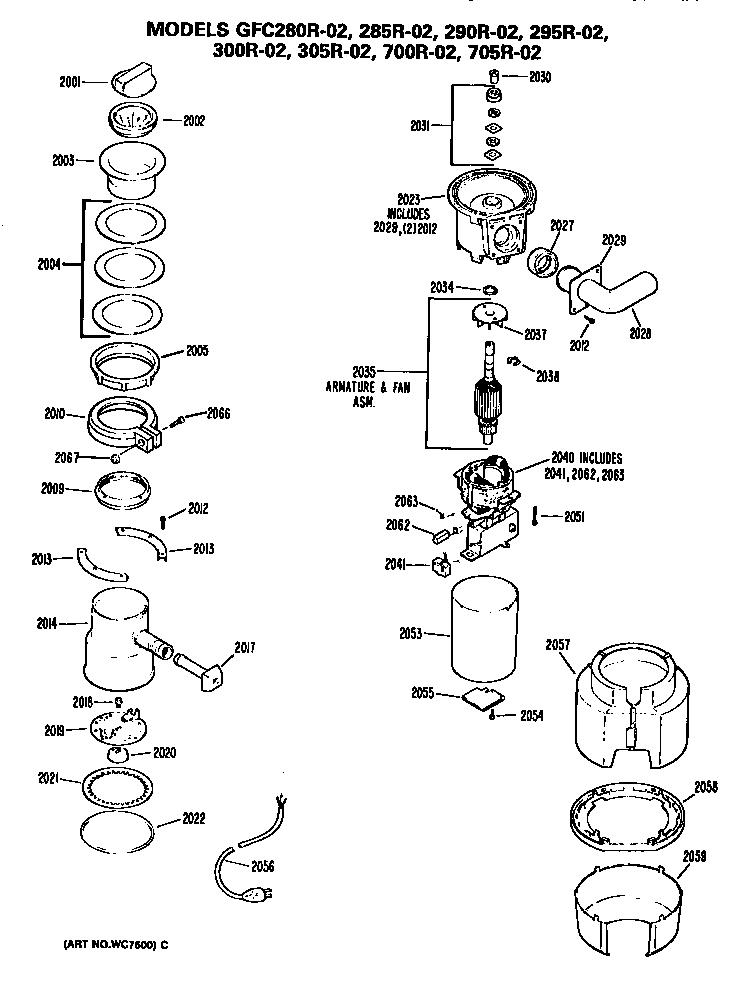 on ge profile refrigerator tfx24pr wiring diagram