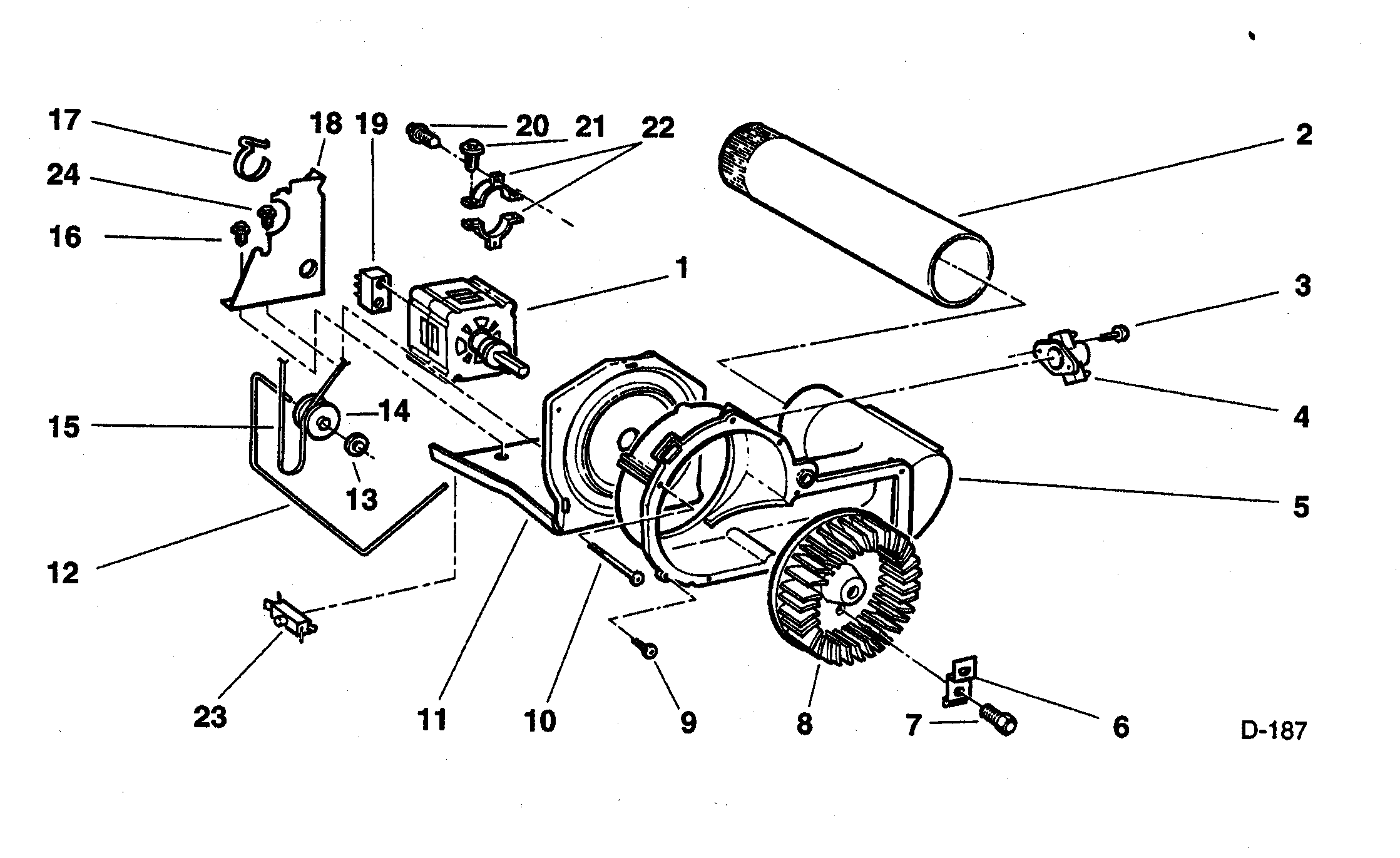 How To Change Drive Belt On Dryer Model De05