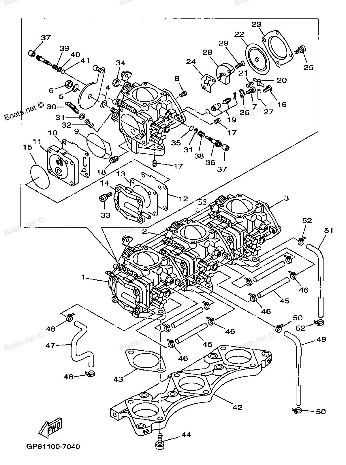 Waverunner Engine Diagram Wiring Yamaha Vx Diagramwaverunner Pontoon Boat I Have 1997