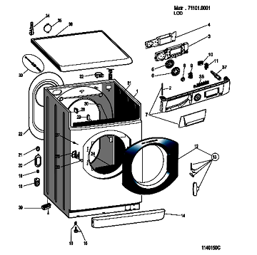 have a hotpoint ultima wmd960 washing machine keeps