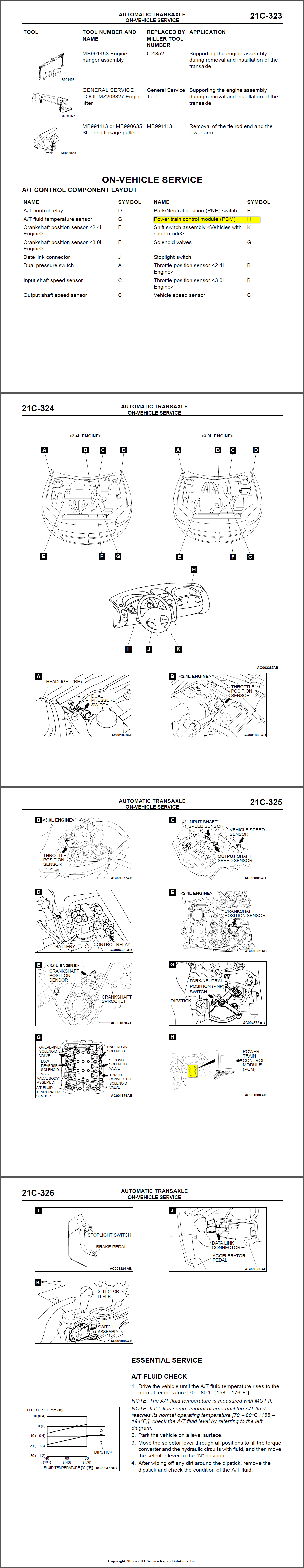 Where Is The Engine Control Computer Located On A 2001