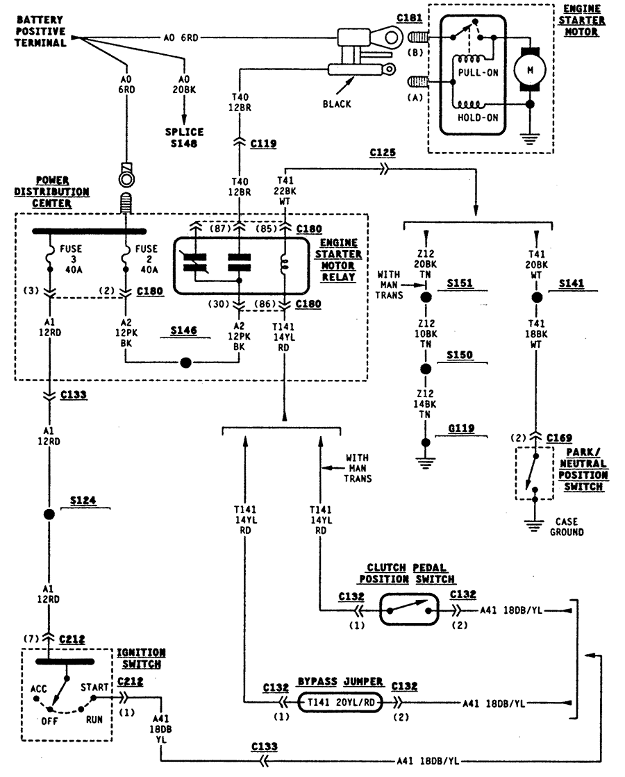 1998 dodge ram fuel pump wiring diagram