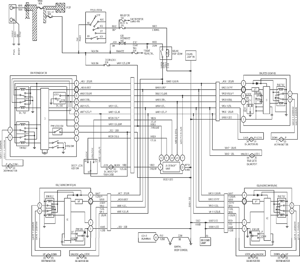 Isuzu Wiring Schematic Guide And Troubleshooting Of Diagram 82 Corvette Fuel Gauge Diagrams 1200737 Npr 2001