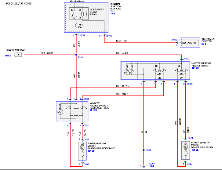 Instrument Junction Box Wiring Diagram : Instrument panel and radio go dead at times sometimes it