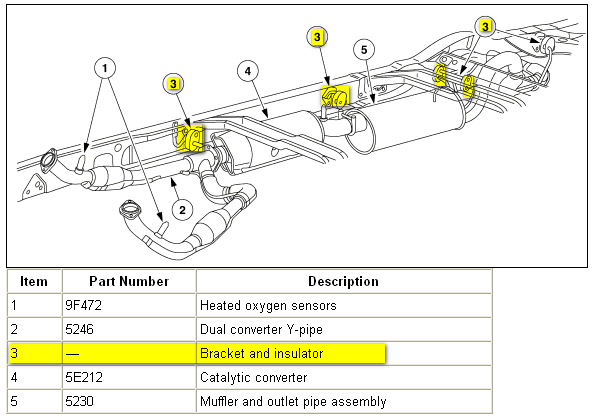 2013 ford f 150 catalytic converter diagram 2005 ford f150