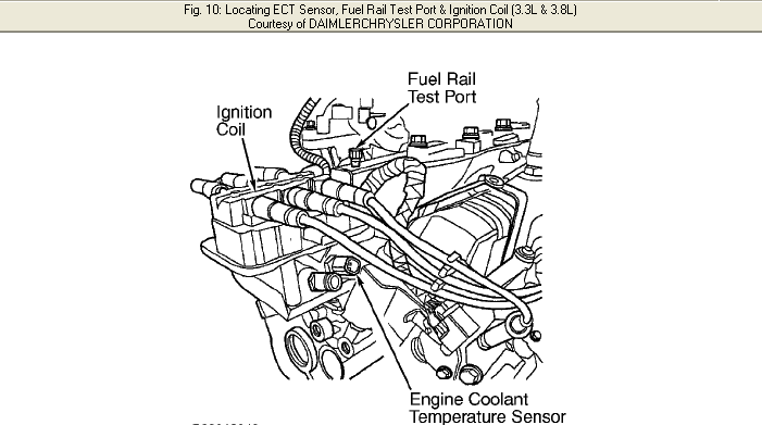 2010 chrysler town and country parts diagram
