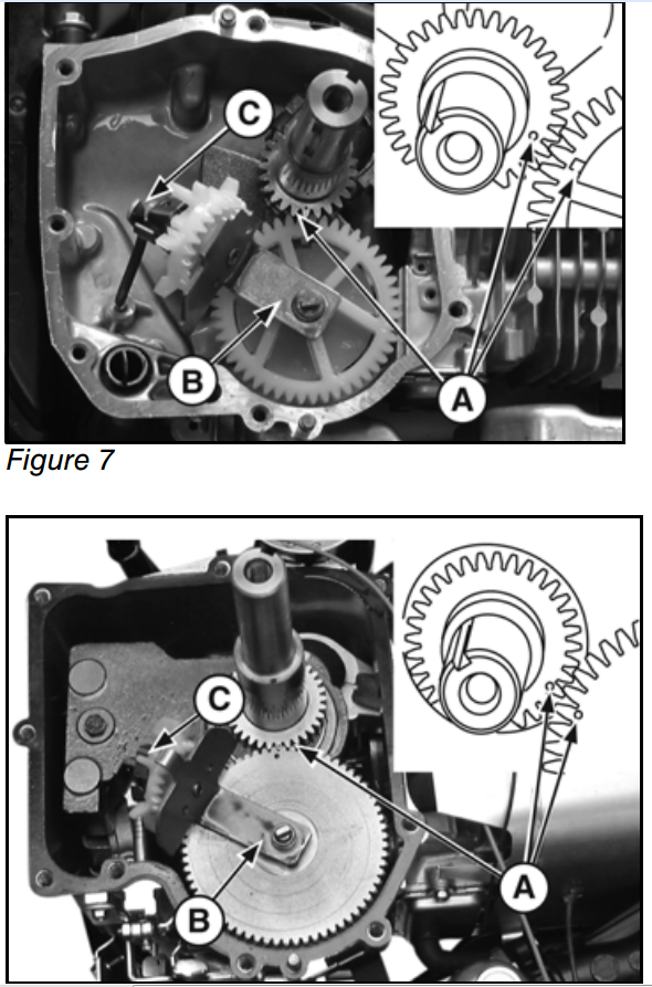 How Do I Set Crank Gear And And Cam Gear Timing Marks On