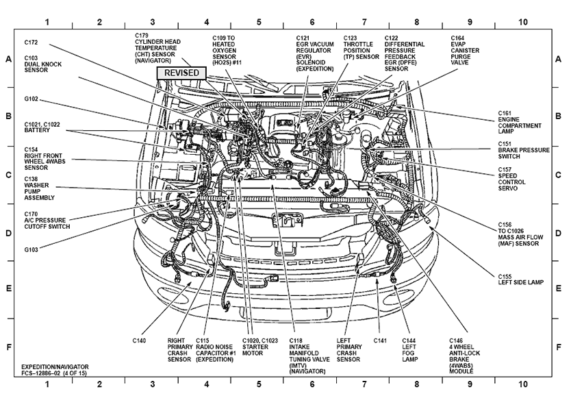 2002 ford focus egr valve location