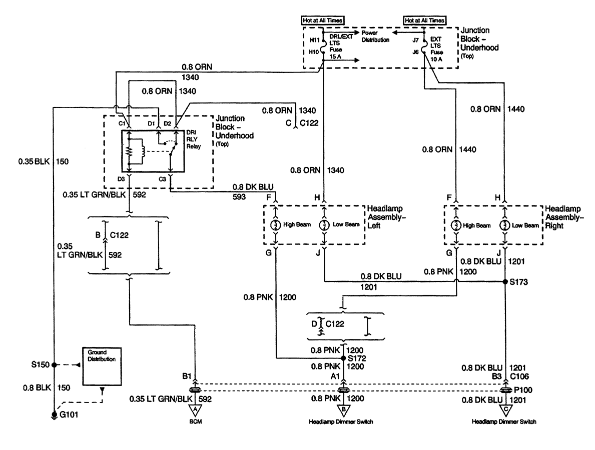 01 chevy wiring schematic  | 1075 x 799