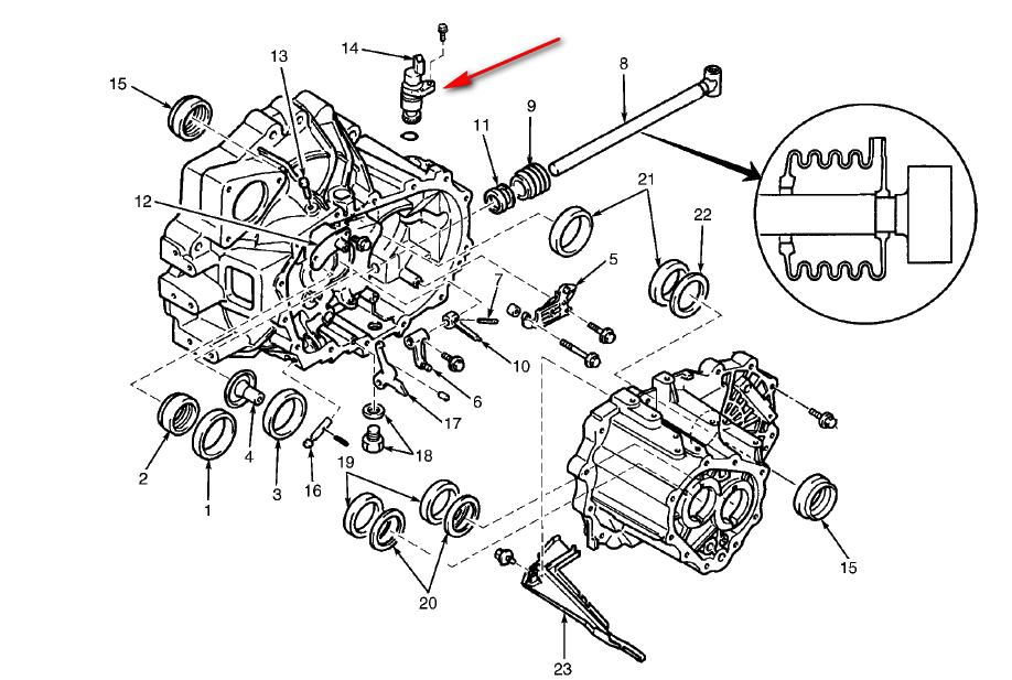 2002 mazda tribute radiator diagram html