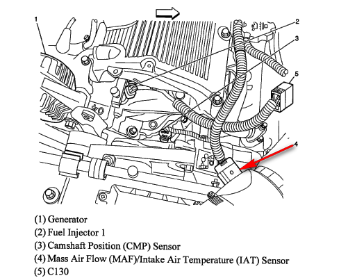 2007 Pontiac G6 M Air Flow Sensor Location Wiring