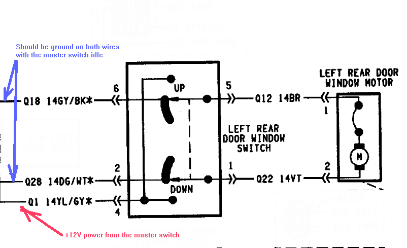 1994 jeep cherokee rear hatch wiring diagram  jeep  auto