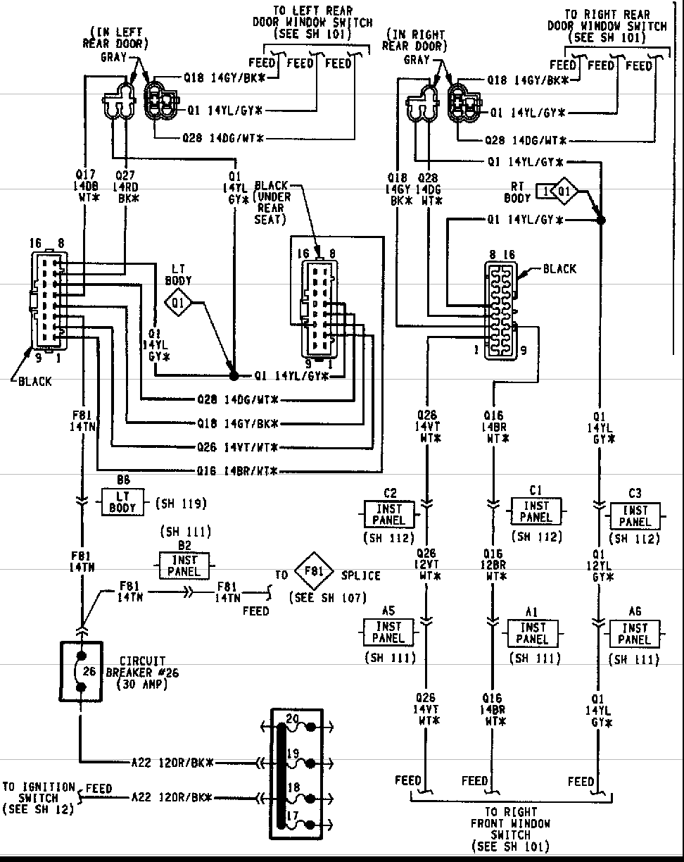 DIAGRAMME} 1998 Jeep Cherokee Door Wiring Diagram FULL Version HD Quality Wiring  Diagram - STRUCTUREFARM.PUNTIMPRESA.ITPuntimpresa