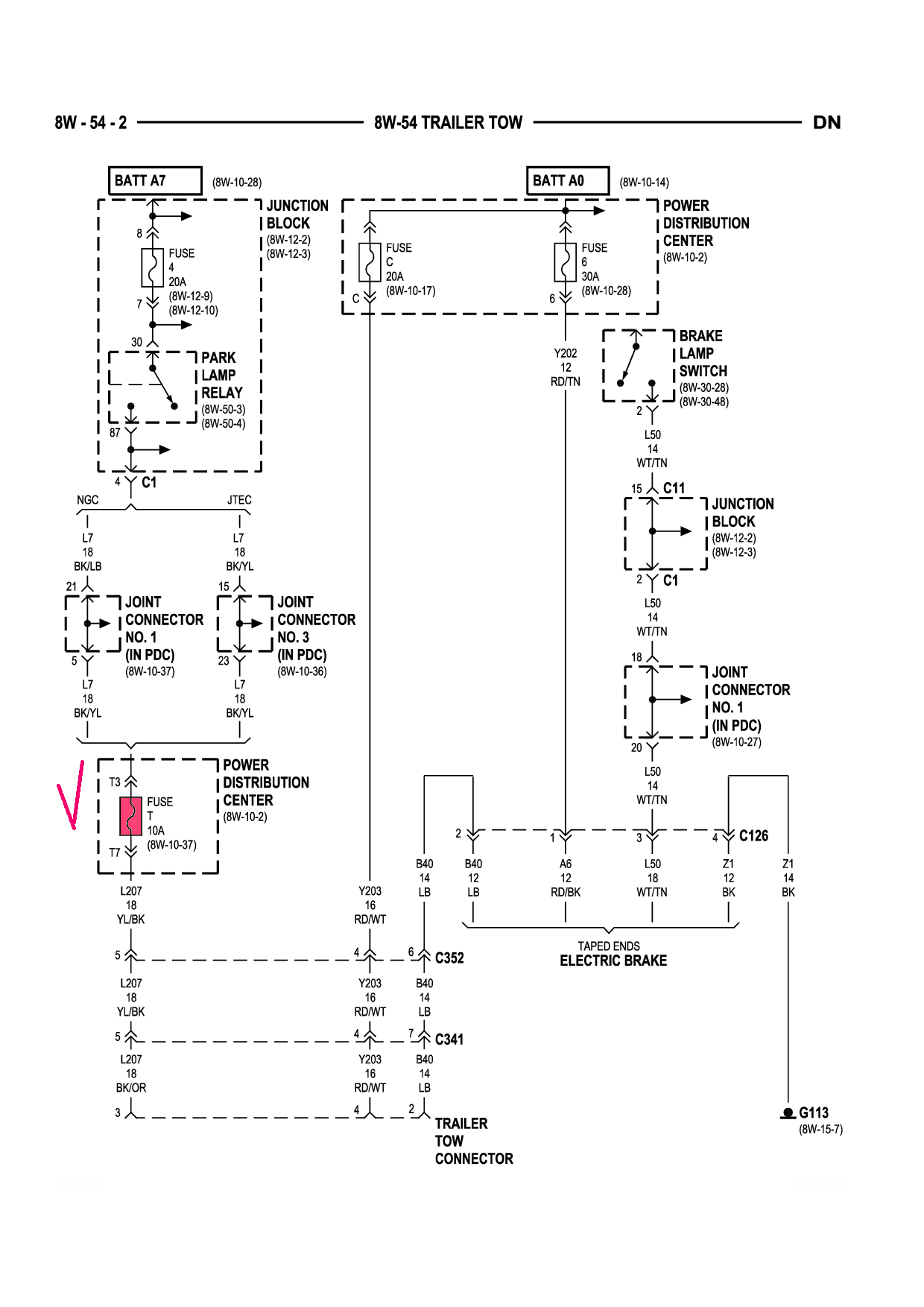 dodge ram trailer wiring harness diagram i have a 2001 dodge durango without tow package but the ...