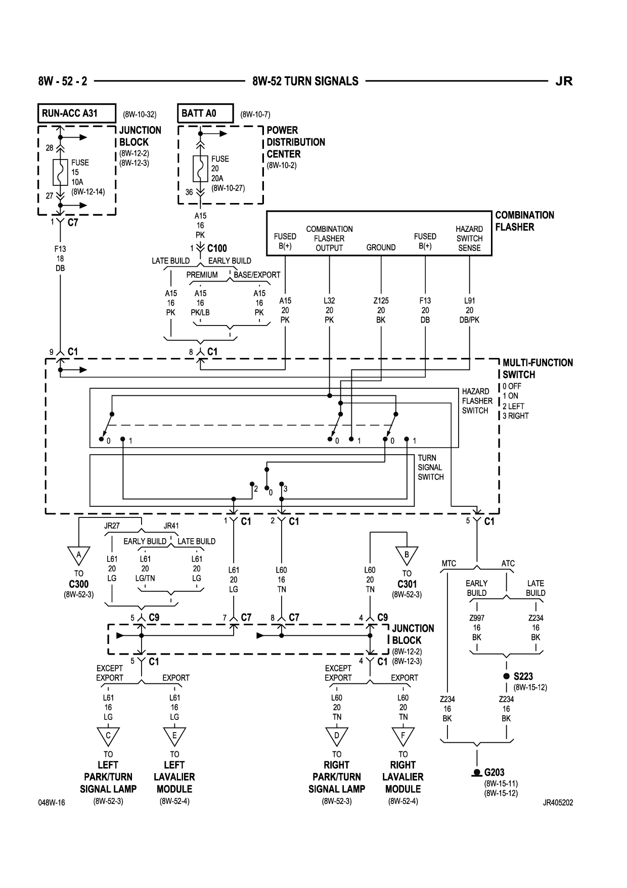 2004 Chrysler Sebring Power Window Wiring Diagram ...