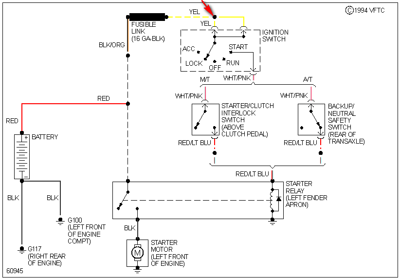 1989 ford escort drove smoke solenoid  ignition switch Switch Wiring Diagram 1989 F150 Wiring Diagram