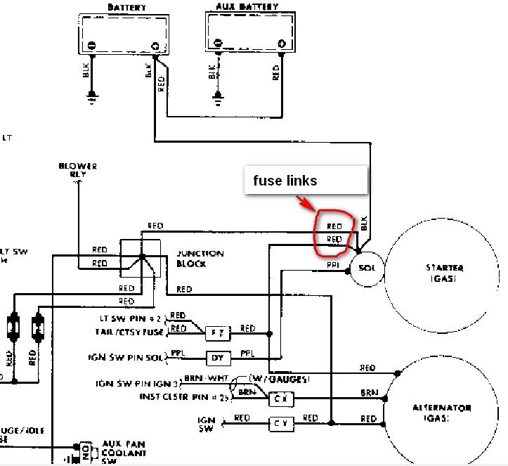 87 chevy silverado wiring 1986 chevy 6.2 diesel. the starter mounting bolts broke. i ... 87 chevy starter wiring #3