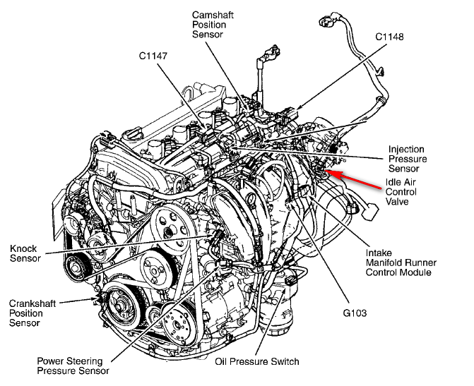 My 2003 Ford Focus Zxw Shuts Off After Ing To A Stop At Rhjustanswer: 2003 Ford Focus Iac Valve Location At Elf-jo.com