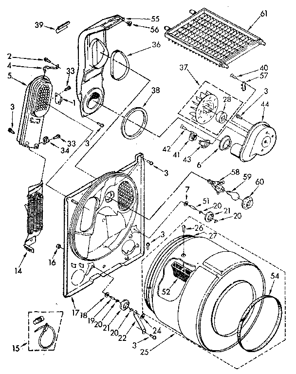 Kenmore Electric Dryer Model 86878100 Not Heating Up