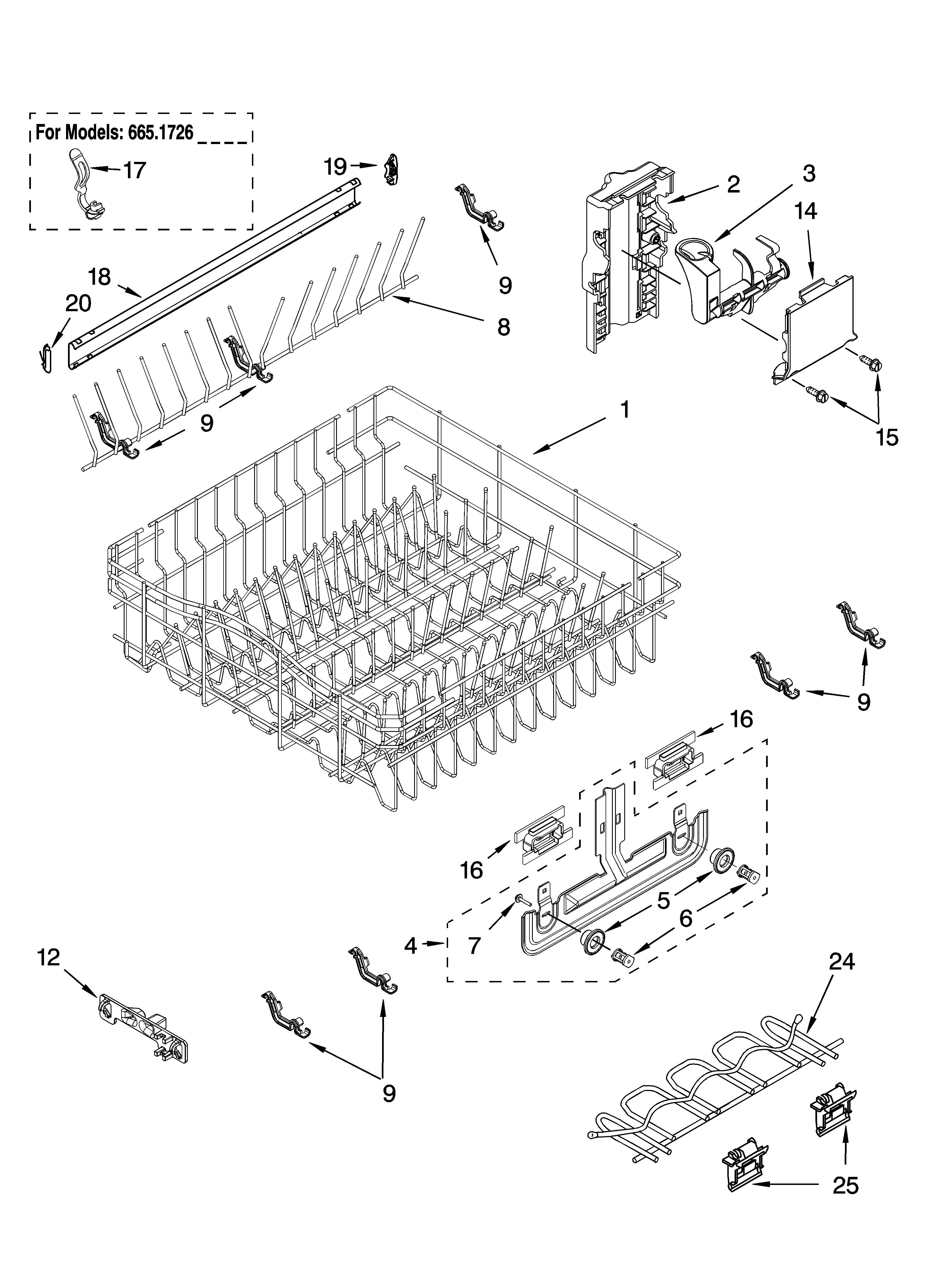 Kenmore Undercounter Dishwasher Model 8575285 It Has Been Making Parts Diagram List For 59677599802 Kenmoreeliteparts Graphic
