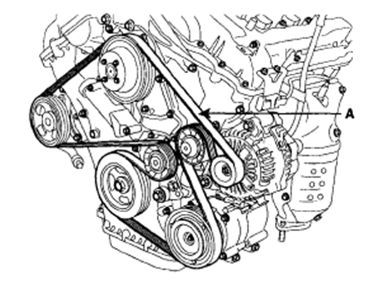 kia sportage engine diagram 2011 sorento serpentine belt