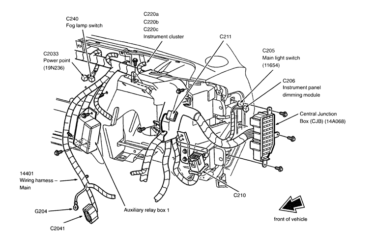 rear wiper motor wiring diagram