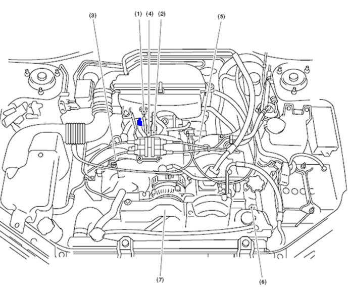 Exactly Where Is The Pcv Valve On My 2006 Subaru Forrester  Turbo   To Change It Do I Access It