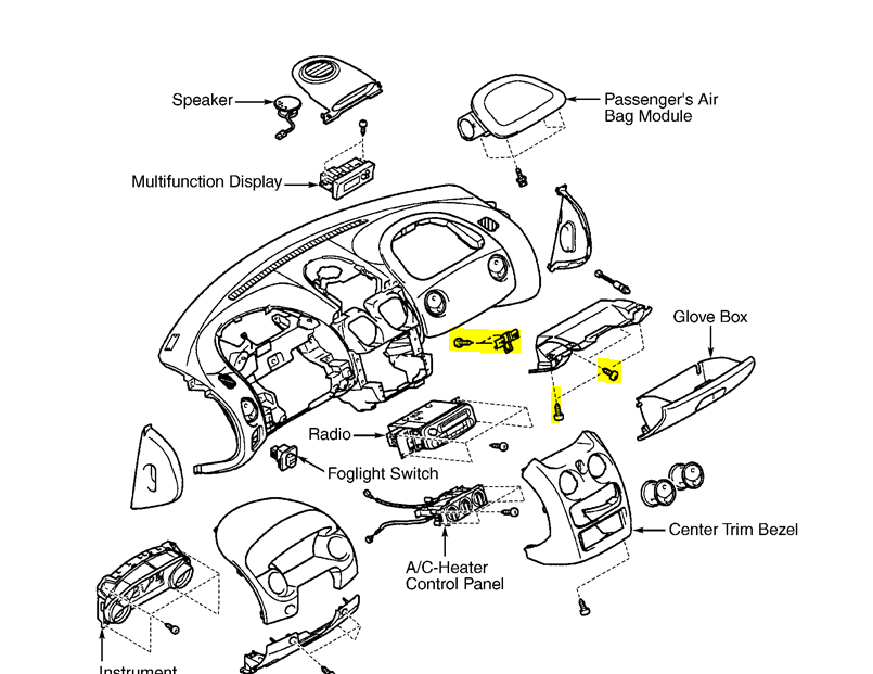 2003 chrysler sebring parts diagram