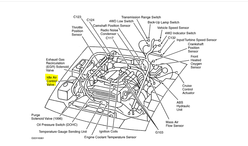 97 KIA Sportage 4 cylinder after it warms up and Idiesdriven – Kia 4 Cylinder Engine Diagram