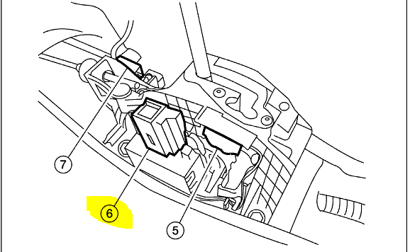 service manual  shifting solenoid location nissan sentra