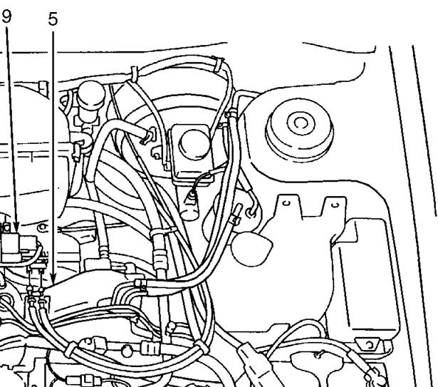 2000 Subaru Forester Fuel Line Diagram  Subaru  Auto Parts