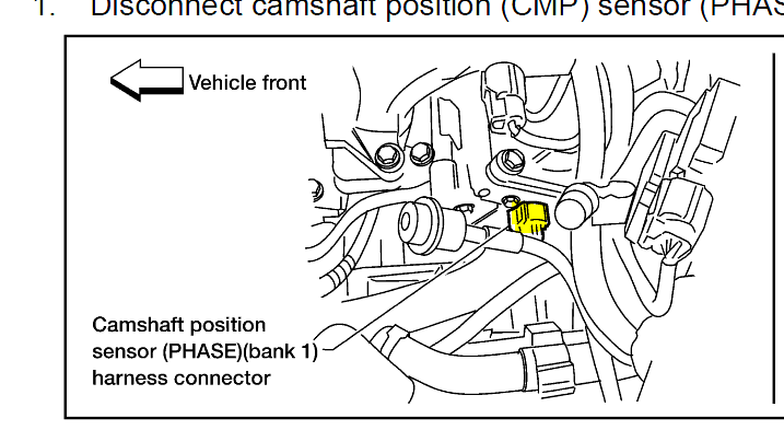 How Do You Replace A Front Camshaft Sensor On A 2003