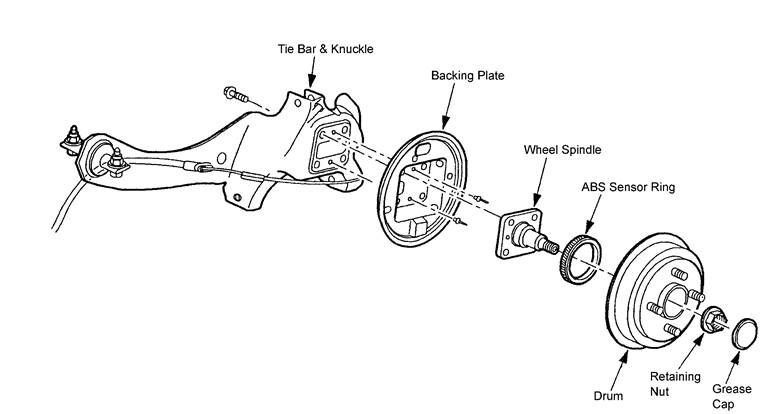 2003 ford escape suspension parts diagram