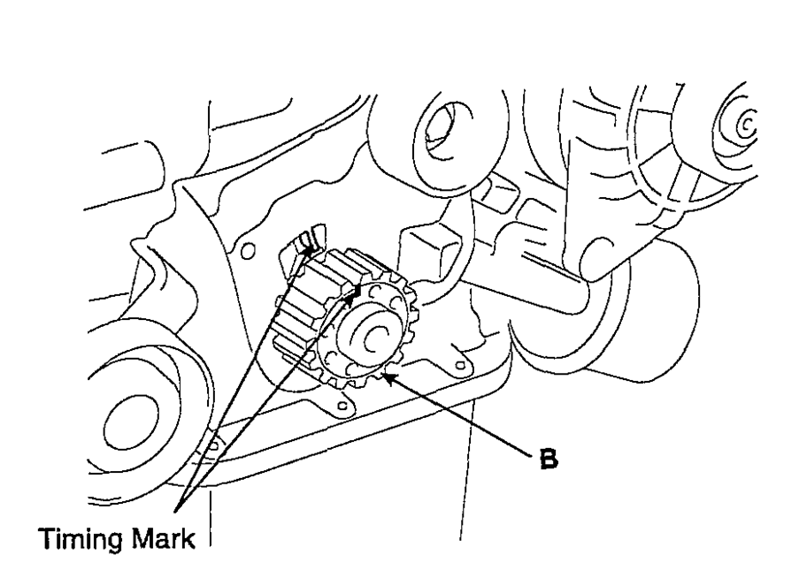 service manual  how to replace timing tensioner 2007 kia