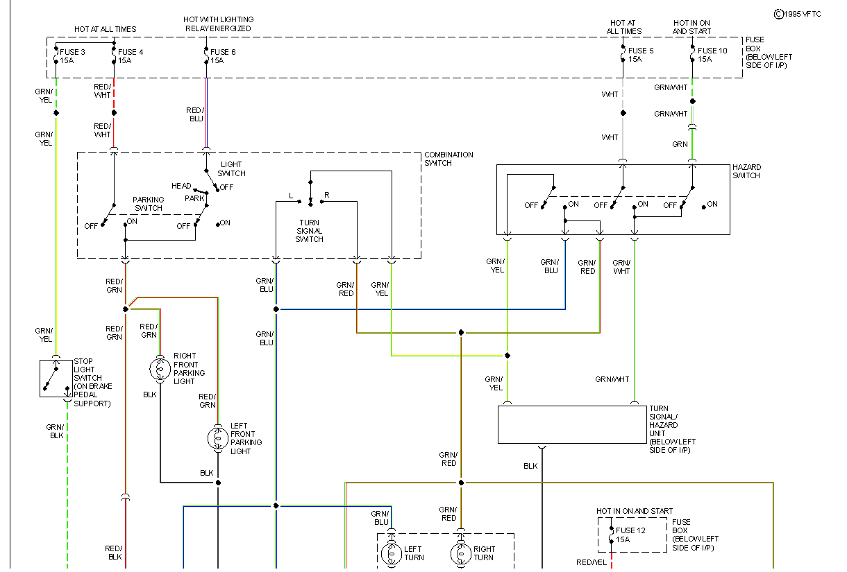 i need a wiring schematic for the park headlight circuits on a 1991 rh justanswer com Subaru Impreza Wiring Diagram 1992 Subaru Legacy Wiring Diagram