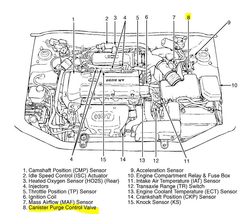 4bm1q 2000 Hyundai Purge Diagram Handyalso Evap Canister Location on wrx cooling system diagram