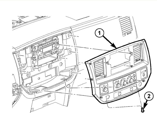 2003 dodge dakota center console parts