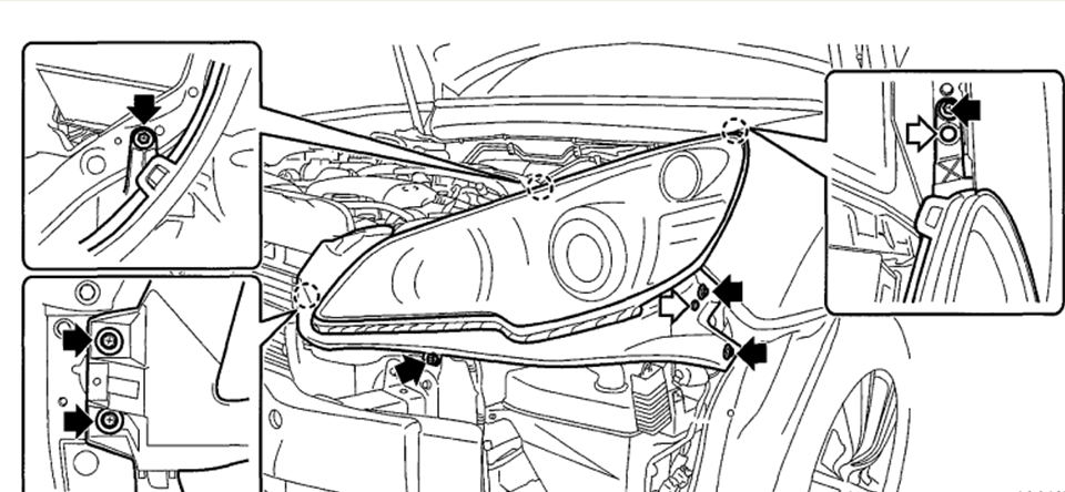 2013 subaru legacy parts diagram