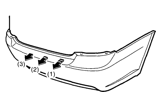 service manual  how to remove rear bumper 2008 subaru