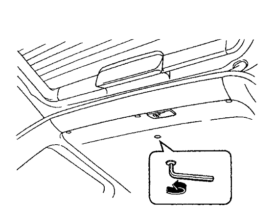 how to close a sunroof manually