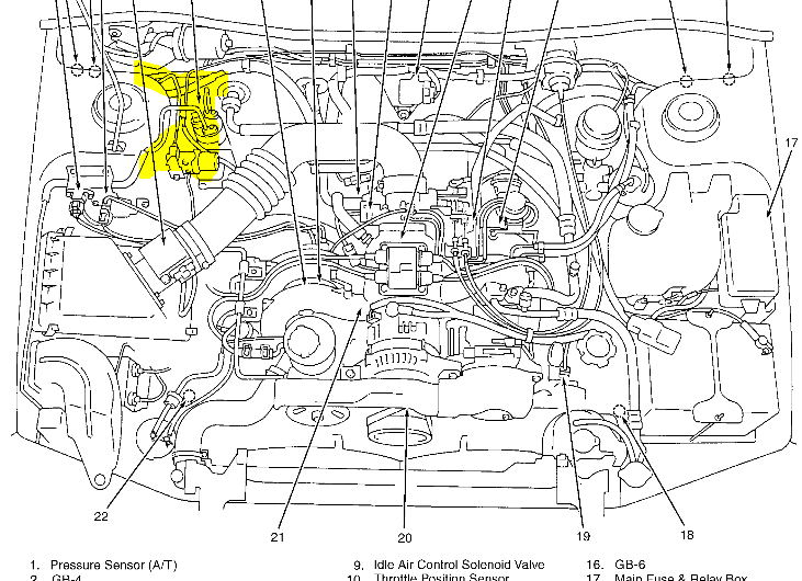 2007 subaru legacy engine diagram 2007 subaru legacy wiring diagram
