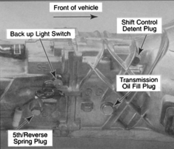 2006 kia rio manual transmission fluid type
