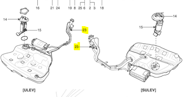 T6613337 Purge control valve located 2002 in addition 76822 Doesnt Like Gasoline moreover P 0900c15280089800 as well 280418 Car Wont Start Without Spray Starting Fluid likewise 2006 Kia Spectra Front Brake Diagram. on 2009 hyundai sonata charcoal canister