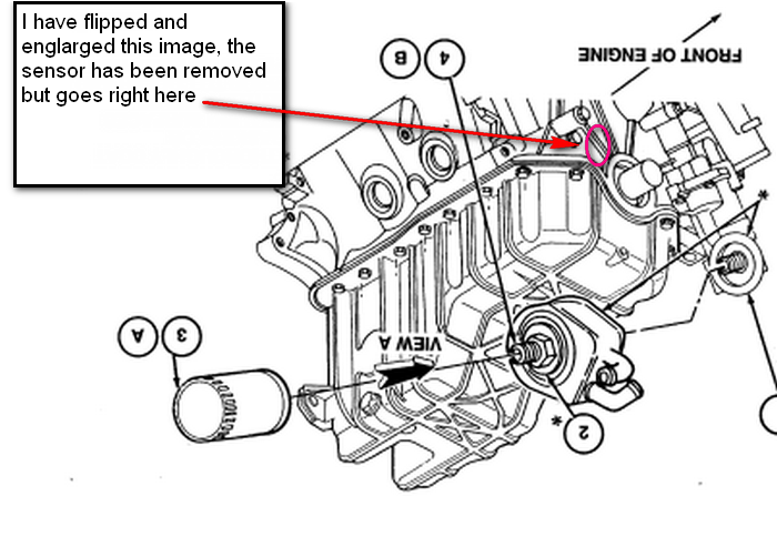 V6 3 8l Where Is The Crankshaft Position