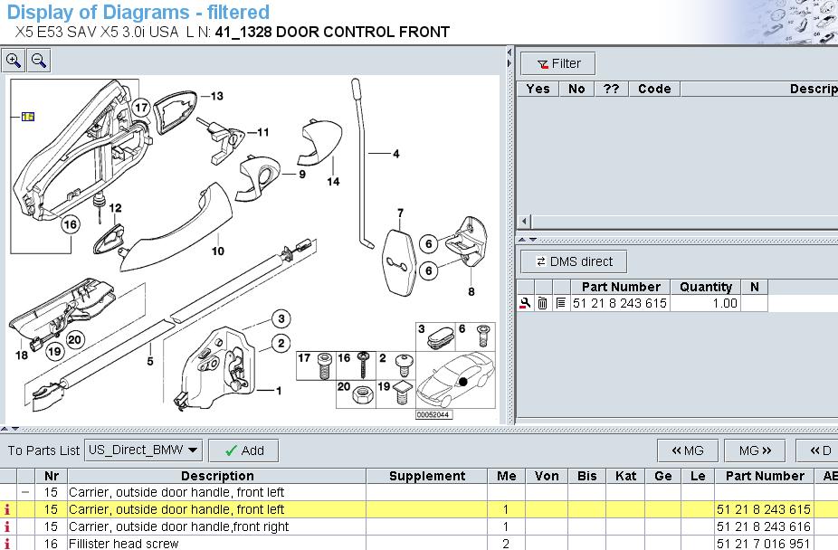 x5 door diagram wiring diagram Alarm 2008 BMW X5 Door Diagram the drivers side interior door handle cable attached to some smallfull size image