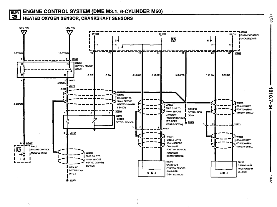 I Need A Wiring Diagram For E36 1992 2 3 Engine And