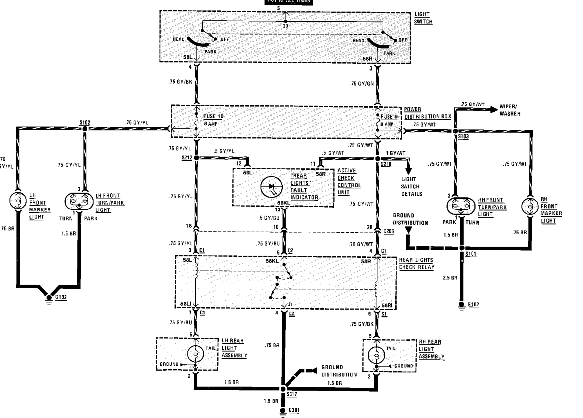 bmw e28 535i wiring diagram 1988 bmw e28 m5  i have to reset the brake light each time i start  1988 bmw e28 m5  i have to reset the